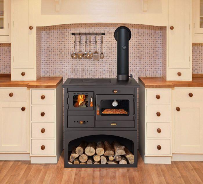 offerta cucina a legna prity mia - promozione stufa forno... - SiHappy