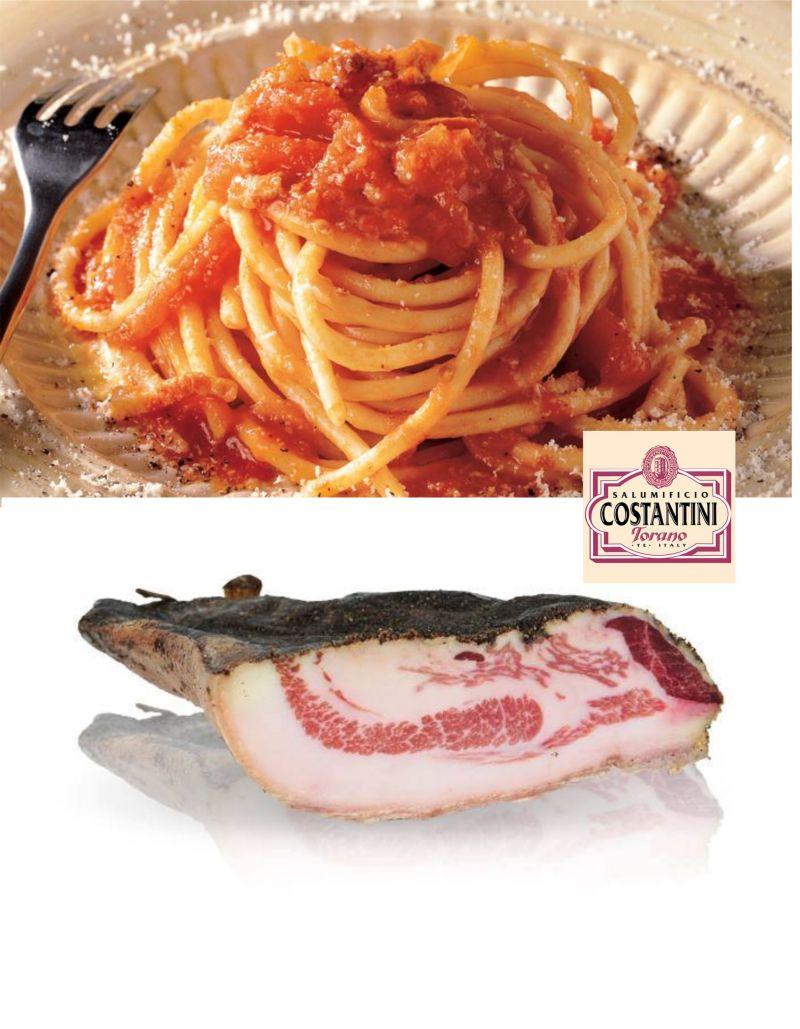 offerta guanciale stagionato - occasione vendita on line salumi tipici abruzzesi Costantini