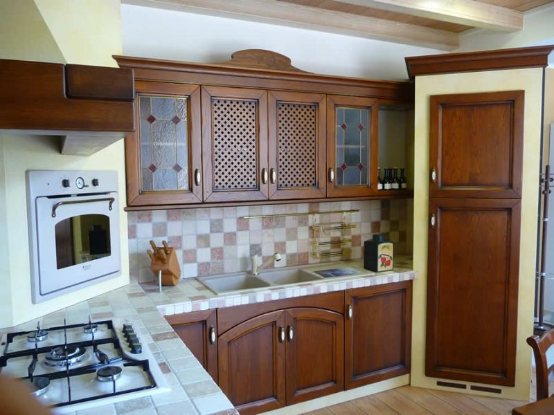 cucina classica in muratura ARREX