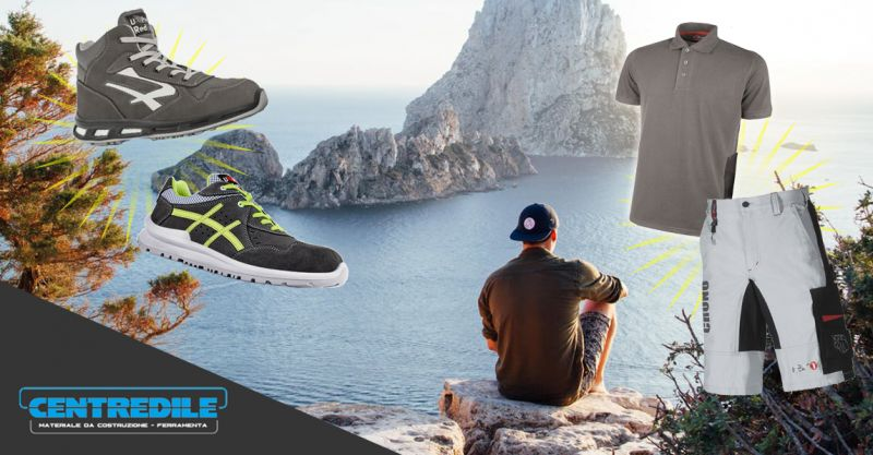 offerta abbigliamento estivo da lavoro - promozione scarpe da lavoro u power
