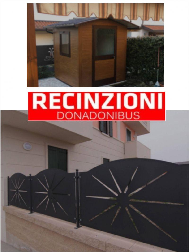 offerta recinzioni cancelli ringhiere casette d'arredo - promozione architetti per per orto