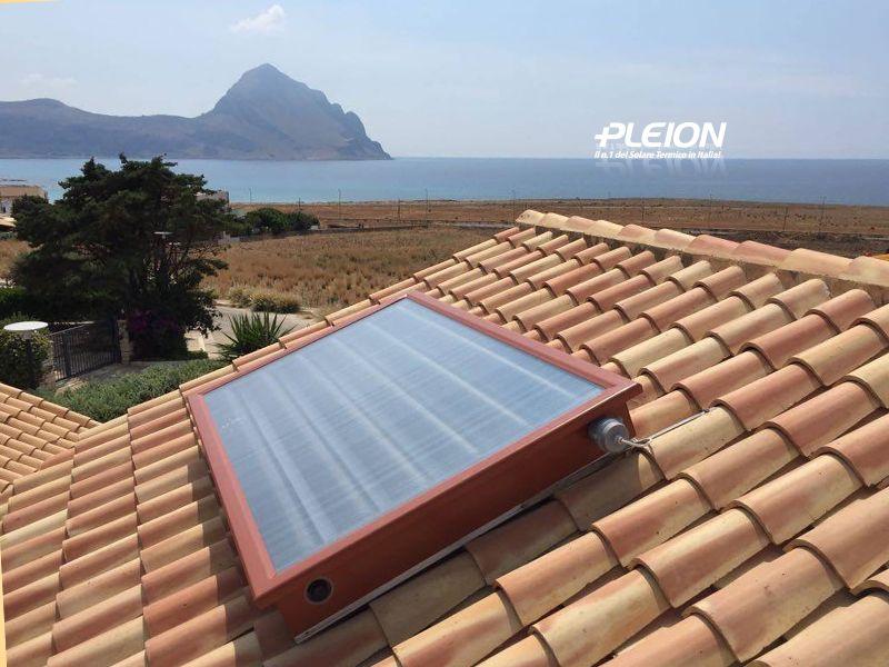 Offerta Vendita Pannello Solare Termico Estetico Pleion San Vito dei Normanni - Termosanitaria