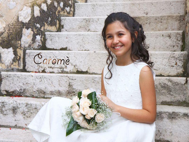 Offerta vendita abiti da cerimonia bambina - Promozione distribuzione vestiti damigella bambina