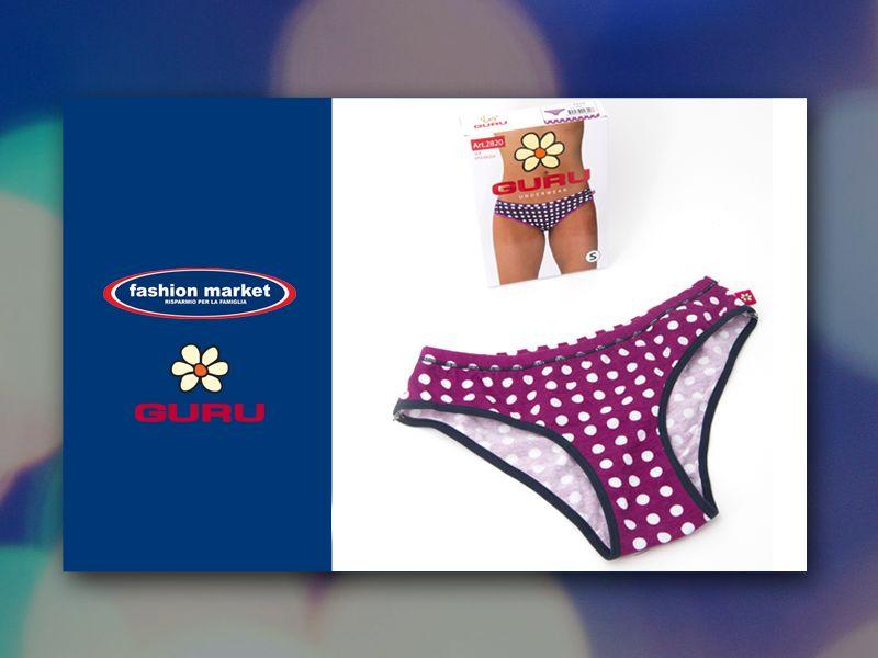 offerta collezione intimo Guru - occasione slip donna Guru - fashion market