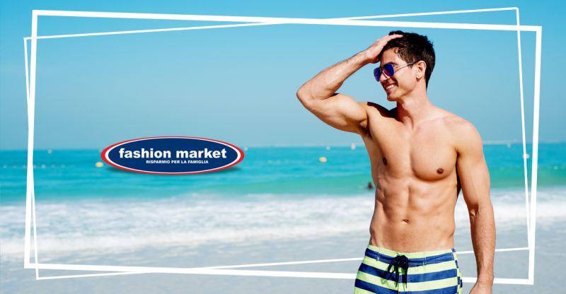 offerta costumi da mare uomo Fashion Market - occasione Shorts da mare uomo