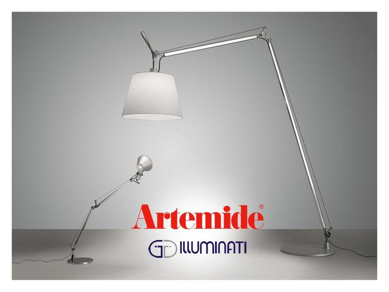offerta lampada artemide tolomeo maxi - occasione lampada da terra artemide