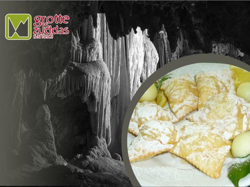 promozione cucina sarda - offerta pranzo tipico sardo -  grotte is zuddas santadi