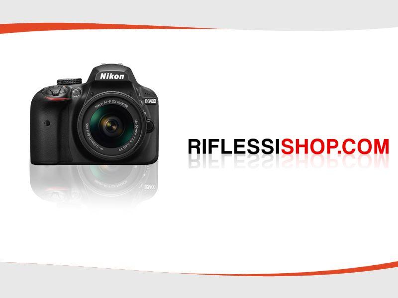 Offerta Vendita fotocamera Nikon Reflex D3400 p- Promozione Distribuzione Fotocamera NikonD3400