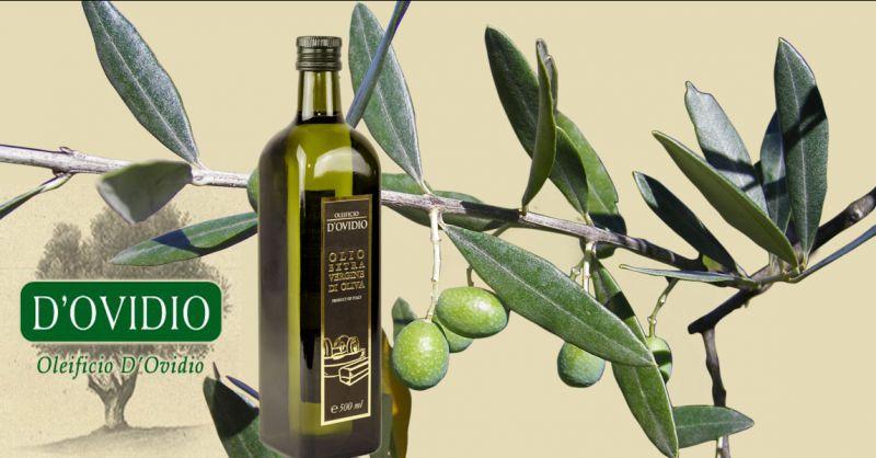 Oleificio D'Ovidio Angebot Produktion und Onlineverkauf von Olivenöl extravergine Made in Italy