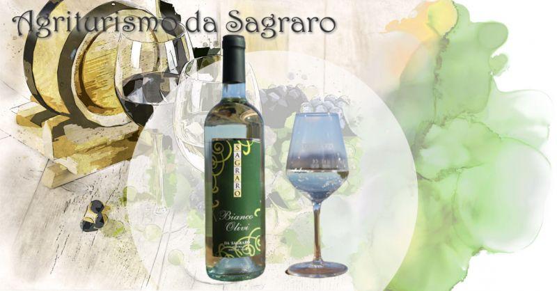 AGRITURISMO DA SAGRARO - Offerta vino bianco frizzante uve TAI BIANCO e PINOT BIANCO METODO CHARMAT