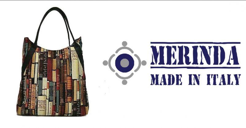 MERINDA- bieten Produktion und Verkauf von Kunsttasche made Italy Museum der Bibliothek D'Orsay