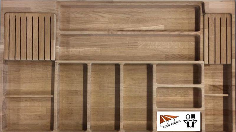 offerta portaposate in legno massello per... - SiHappy