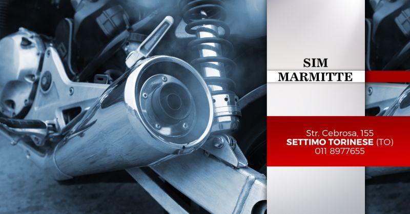 Offerta Riparazione Marmitta Moto Torino - Occasione Installazione Marmitte Scooter Torino