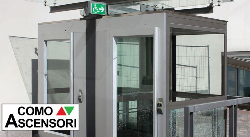 Offerta installazione piattaforme elevatrici per disabili - promozione barriere architettoniche piattaforme elevatrici