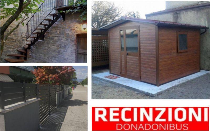 offerta casette giardino e recinzioni - occasione ringhiere, cancelli, recinzioni