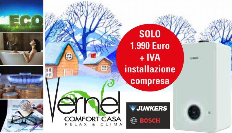 offerta vendita e installazione caldaie junkers bosch - promozione impianti di RISCALDAMENTO