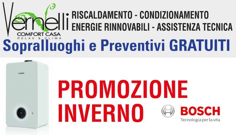 offerta vendita e installazione caldaia Bosch CONDENS 2300 W a senigallia - promozione caldaie