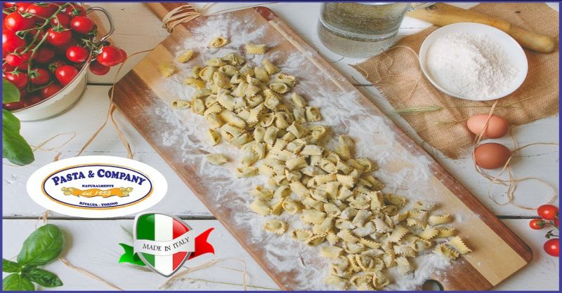 Pasta & Company promotion of fresh Italian pasta - Italian fresh pasta production offer