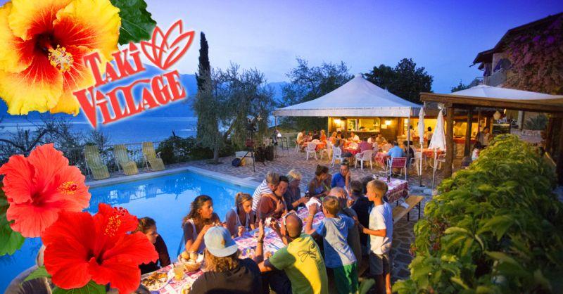 TAKI VILLAGE - Offerta vacanze in appartamento o Albergo sul Lago di Garda servizio Hotel