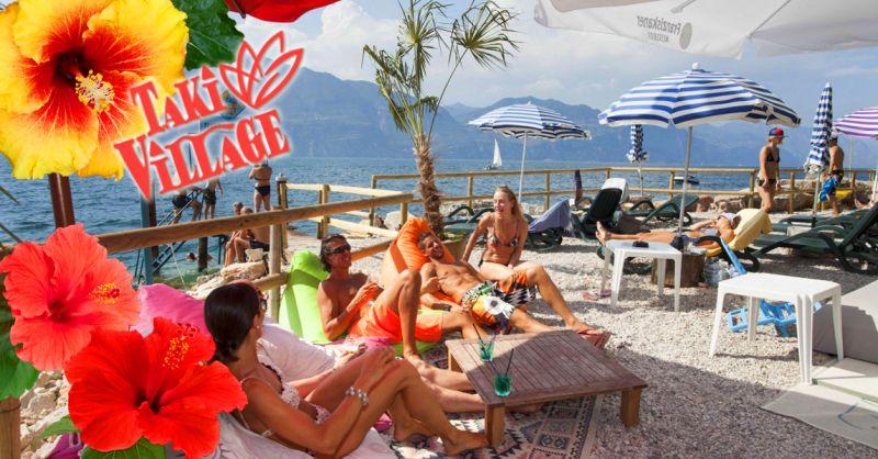 TAKI VILLAGE - Offerta servizio noleggio barche a vela e motore Lago di Garda