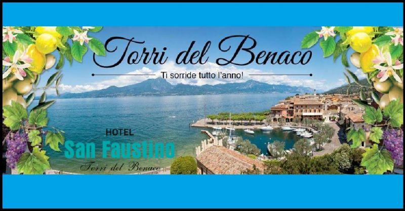 Hotel San Faustino bieten Urlaub Türme von Benaco Gardasee - Torri Del Benaco Übernachtung