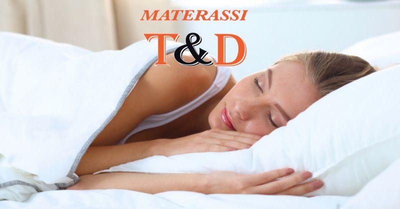 offerta materasso matrimoniale memory foam foggia- promo materasso singolo memory  foggia T&D