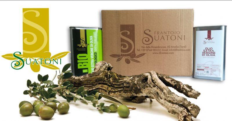 FRANTOIO SUATONI - Angebot Olivenöl extra vergine Made in Italy aus Umbrien