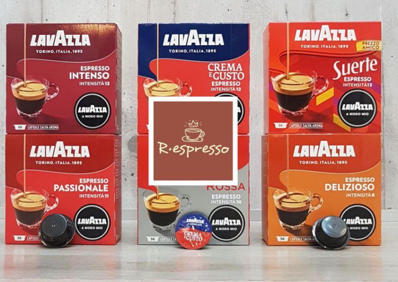 RESPRESSO offerta capsule lavazza modo mio-promozione capsule caffe qualita rossa lavazza