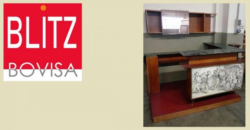 Blitz Bovisa offerta vendita bar modernariato anni 50 - occasione vendita arredamenti usato