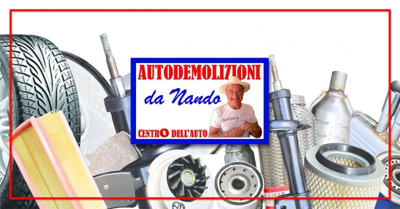 CENTRO DELL'AUTO offerta centro demolizioni auto bricherasio - recupero pezzi auto usati