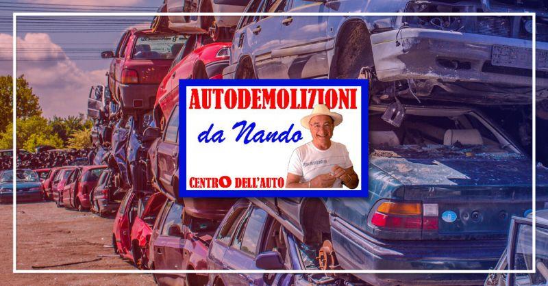 CENTRO DELL'AUTO - offerta servizio autodemolizioni pinerolo bricherasio