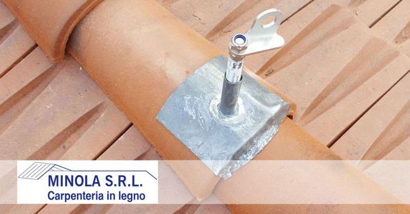Carpenteria Minola – offerta progettazione e installazione linee vita – promozione installazione sistemi anticaduta
