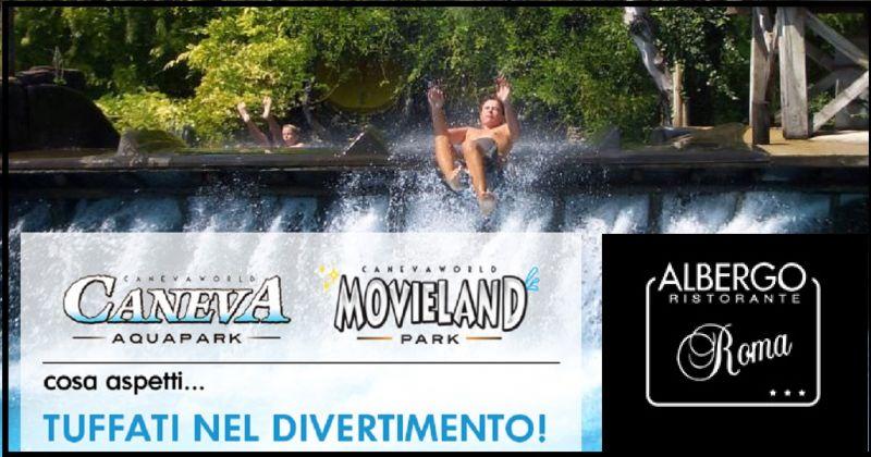 Hotel Restaurant Roma - Übernachtungsangebot in der Nähe des Wasserparks Canevaworld in Lazise