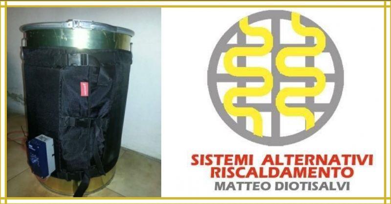 Opportunité de vente en ligne Made in Italy Systèmes Chauffe-fûts 200 LT Puissance 1200 W