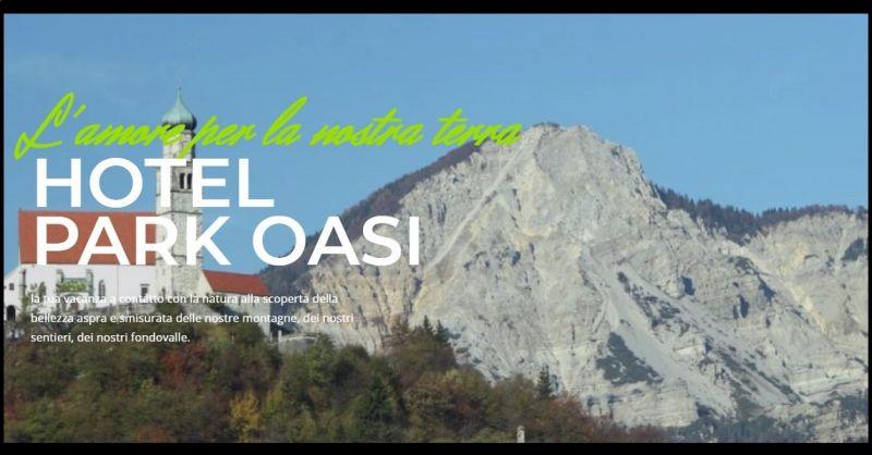 Hotel Park Oasi - Urlaubsangebot im Kontakt mit der Natur OASI in Carnia Udine Italien