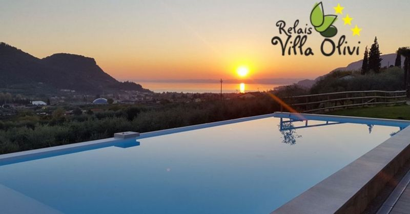 RELAIS VILLA OLIVI - Luxus-Übernachtung Angebot am Gardasee in der Nähe von Verona