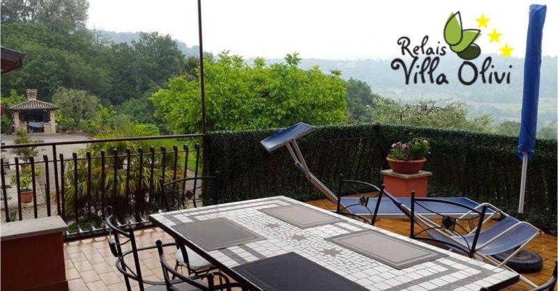Relais Villa Olivi - Wirtschafts Urlaub mit Mietwohnungen für 5 Personen am Gardasee