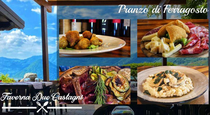 Offerta pranzo di Ferragosto ristorante Val D'intelvi – promozione Ferragosto ristorante menu alla carta