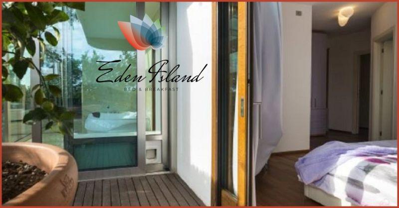 B&B Eden Island Verona - Promozione suite di lusso in bed & breakfast con zona relax a Verona