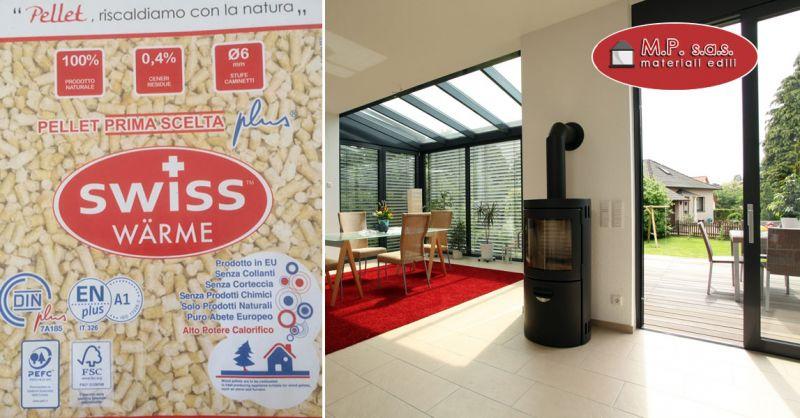Offerta pellet Swiss di prima scelta como – promozione pellet per stufe e caldaie como