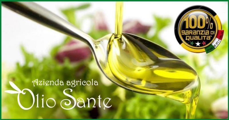 AZIENDA AGRICOLA OLIO SANTE - der beste Erzeuger von sortenreinem EVO-Öl in Italien