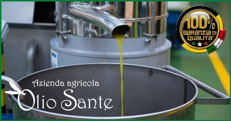 Olio Sante - Promozione migliore olio EVO artigianale made in Italy Pugliese monovarietale