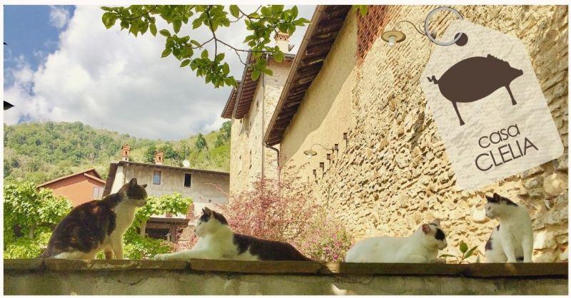 AGRITURISMO CASA CLELIA - Angebot Übernachtung B&B Hotel Ortschaft Monte Canto Bergamo Lombardei