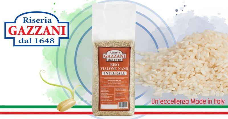 RISERIA GAZZANI - Occasione Vendita online Riso Integrale Vialone Nano di produttori italiani