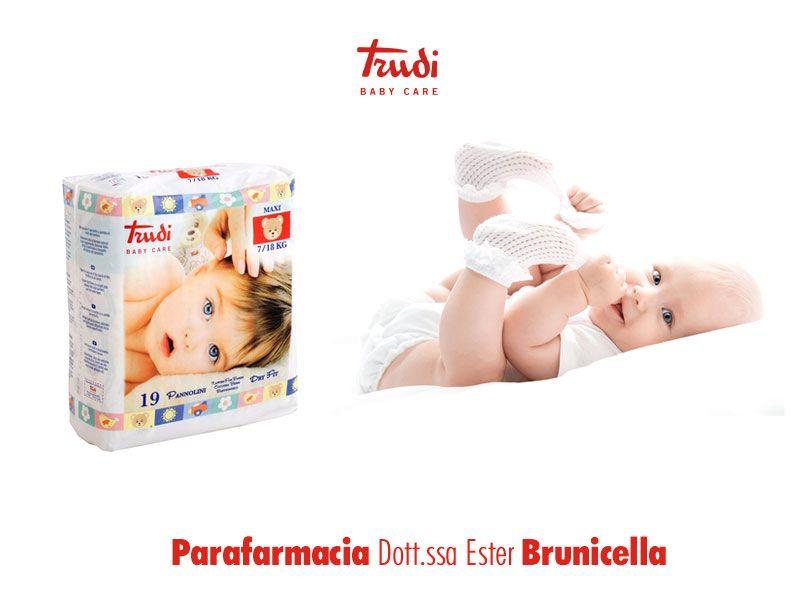 offerta pannolini trudi baby care - promozione linea bimbi trudi